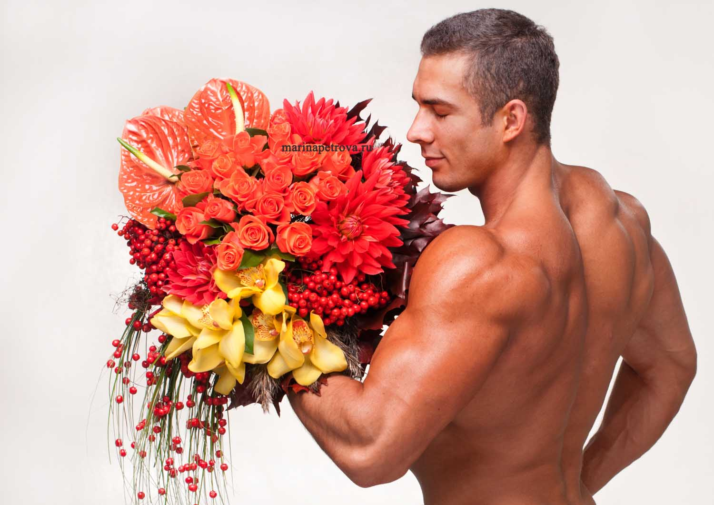 Парни красивее цветов фото